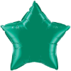 "20"" Emerald Star Qualatex (5ct) (SKU: 12625)"