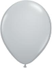 "11"" Round Gray (100 count) Qualatex (SKU: 13780)"