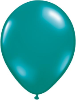"11"" Round Jewel Teal (100 count) Qualatex (SKU: 43753)"