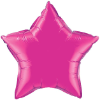 "20"" Magenta Star Qualatex (5ct) (SKU: 99337)"
