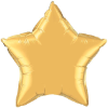 "20"" Metallic Gold Star Qualatex (5ct) (SKU: 35433)"