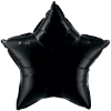 "20"" Onyx Black Star Qualatex (5ct) (SKU: 12617)"