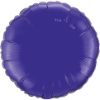 "18"" Round Quartz Purple Qualatex Microfoil (5 ct.) (SKU: 12922)"