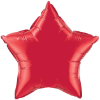 "20"" Ruby Red Star Qualatex (5ct) (SKU: 12626)"