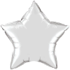 "20"" Silver Star Qualatex (5ct) (SKU: 12630)"