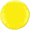 "18"" Round Yellow Qualatex Microfoil (5 ct.) (SKU: 12915)"